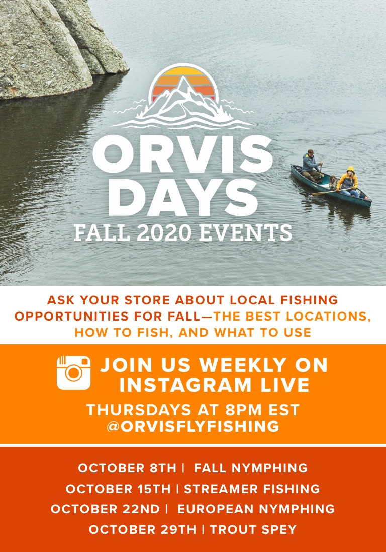 Orvis Fall Days